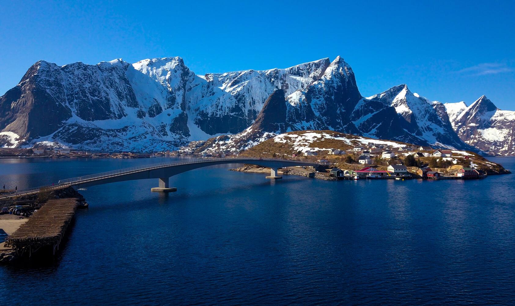 Prise de vue Norvege