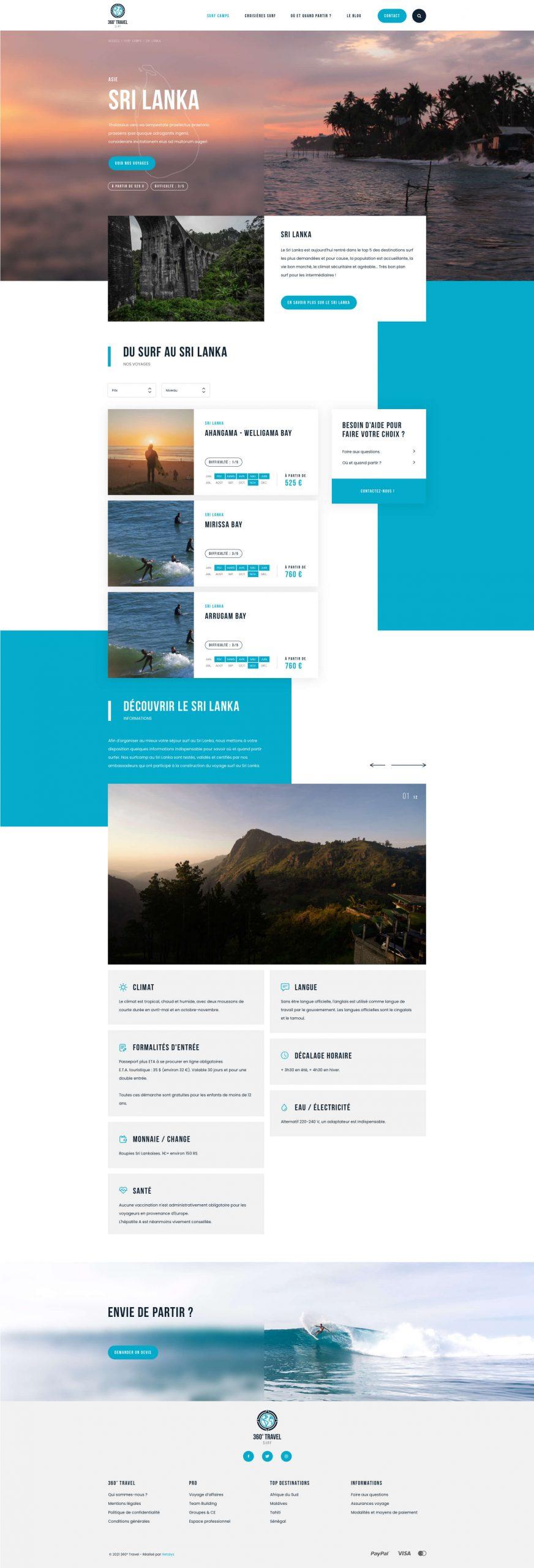 Webdesign 360 Surf